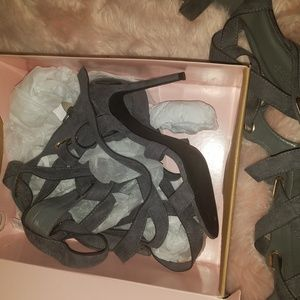 Charlotte Russe Shoes - Sexy Charlotte Russe Gladiator Heels sz 10